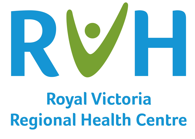 Logo for Royal Victoria Regional Health Centre.