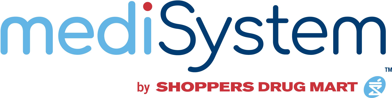 Logo for MediSystem by Shoppers Drug Mart.