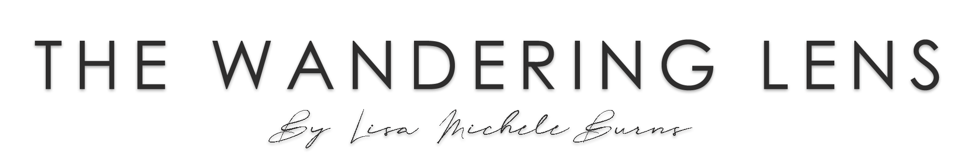 The Wandering Lens Logo