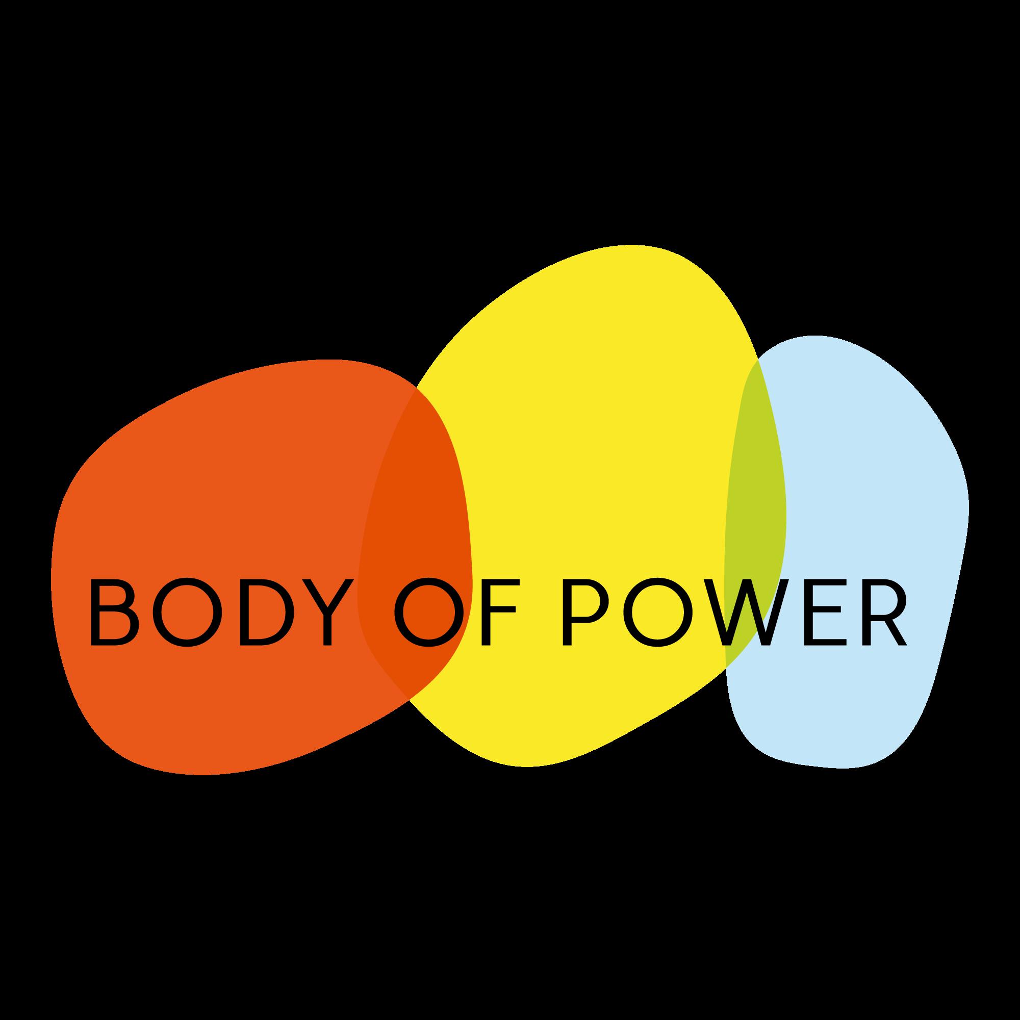 Logo Body of Power rot gelb blau