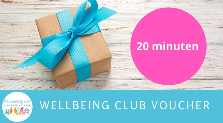 Wellbeing Club Coaching - 20 min