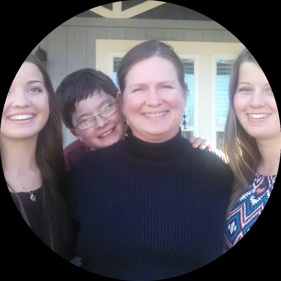 picture of Deborah and her children
