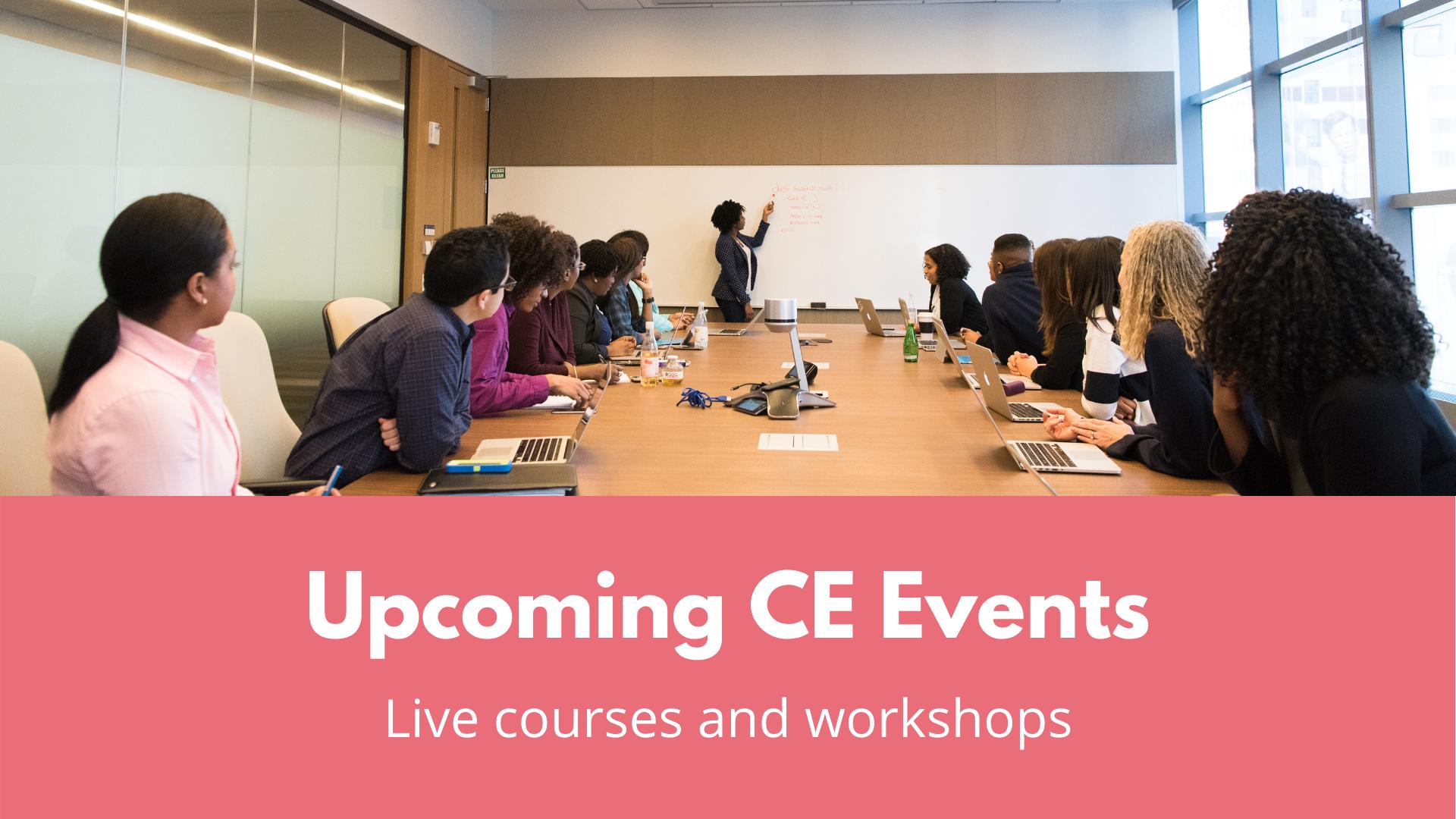 Live CE Courses