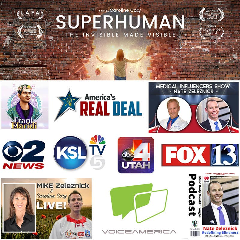Vibravision® Featured On TV, News, Film, and Podcasts