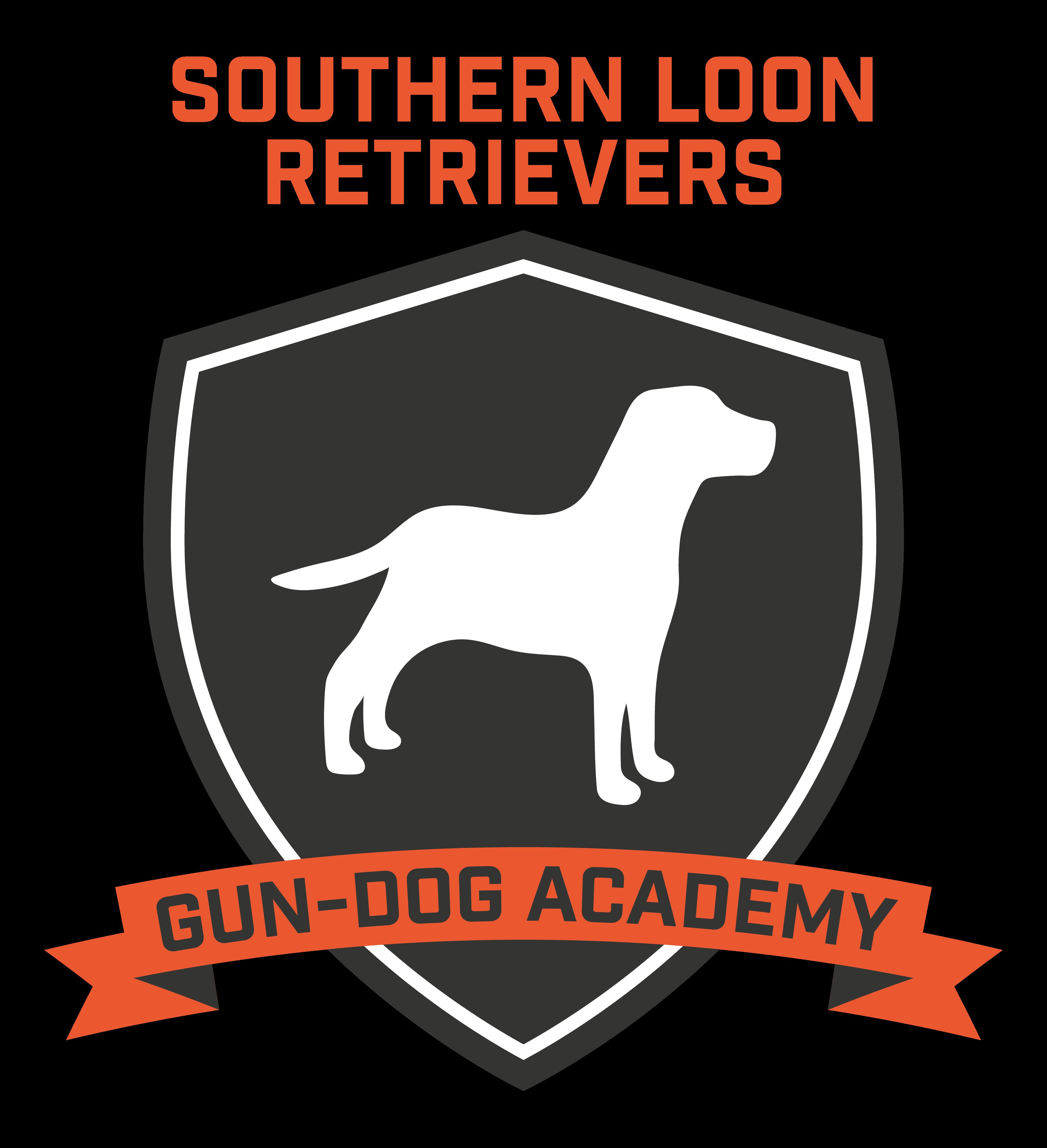 Southern Loon Gun-Dog Logo