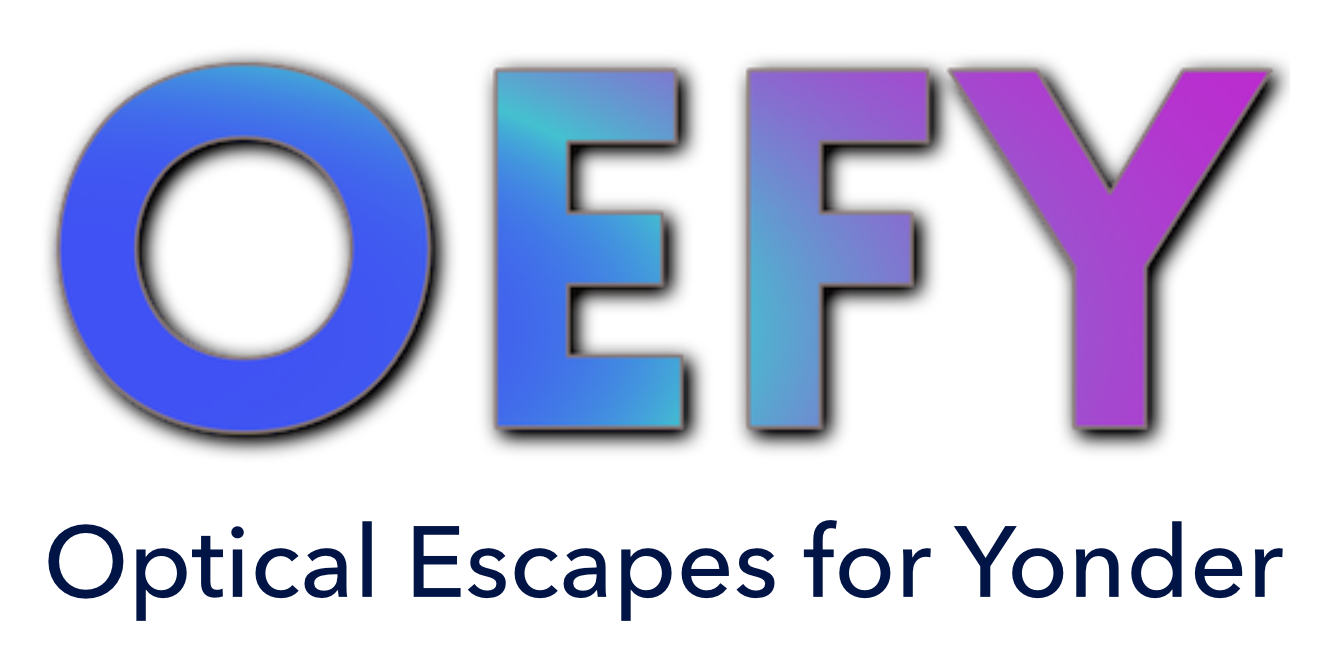 OEFY: Optical Escapes For Yonder