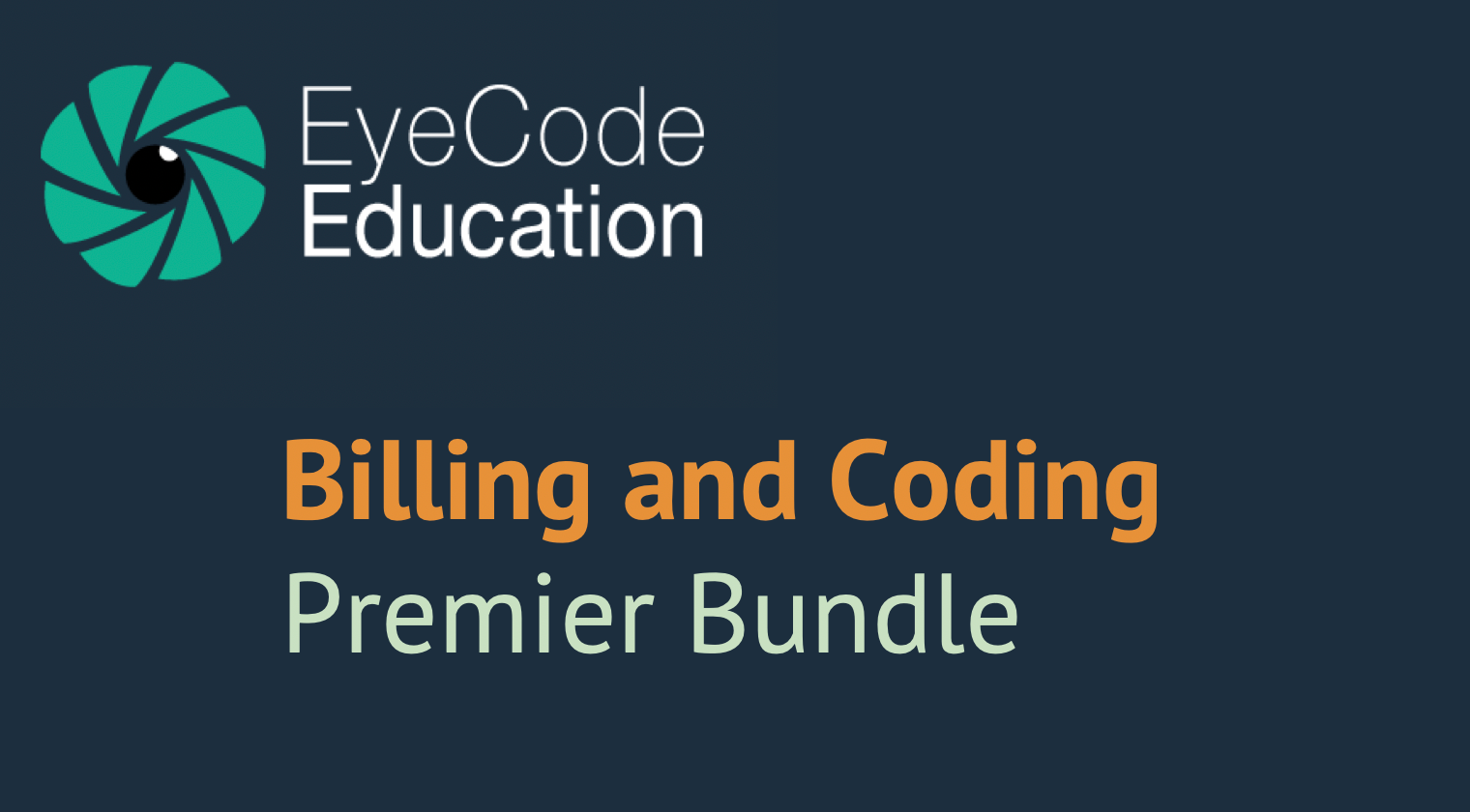 EyeCode Billing and Coding Premiere Bundle