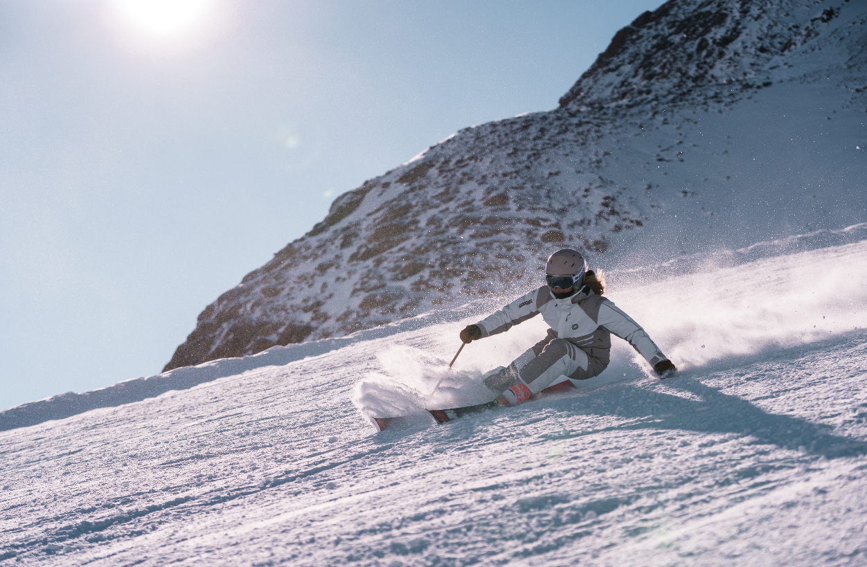 Nina Gigele skiing Pitztal Glacier, ONYONE