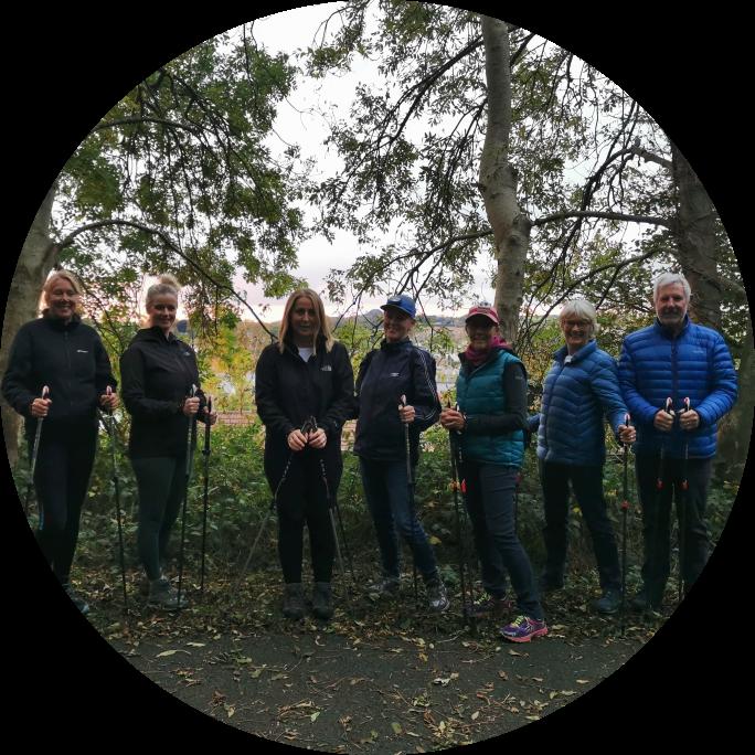 Autumn is here! Nordic Walking fun
