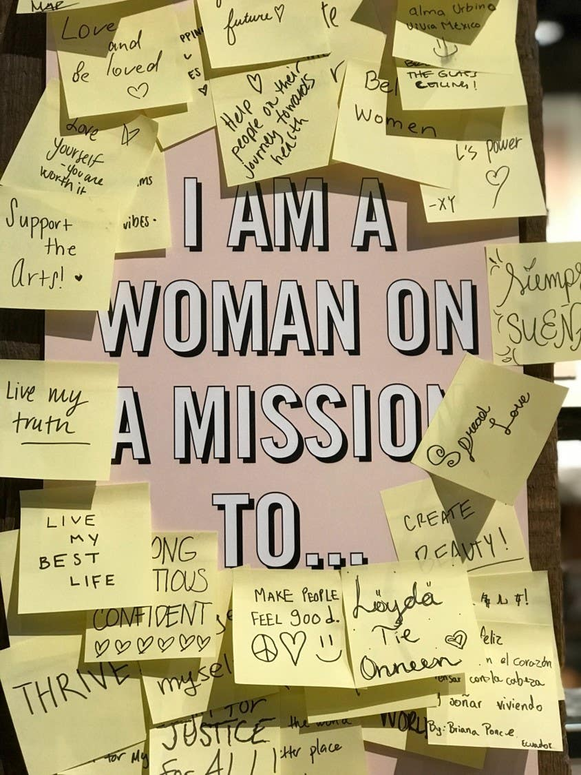 Woman On A Mission Quote