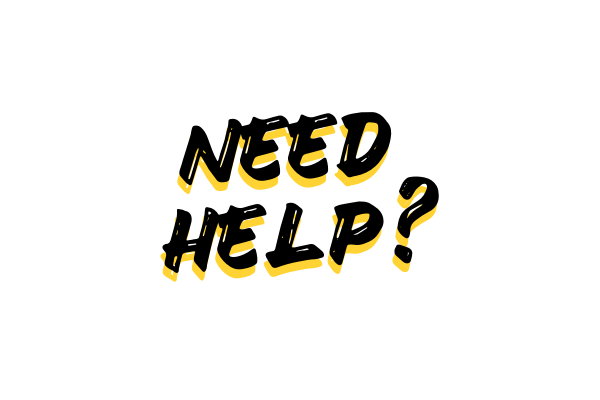 Go to our support lounge for help