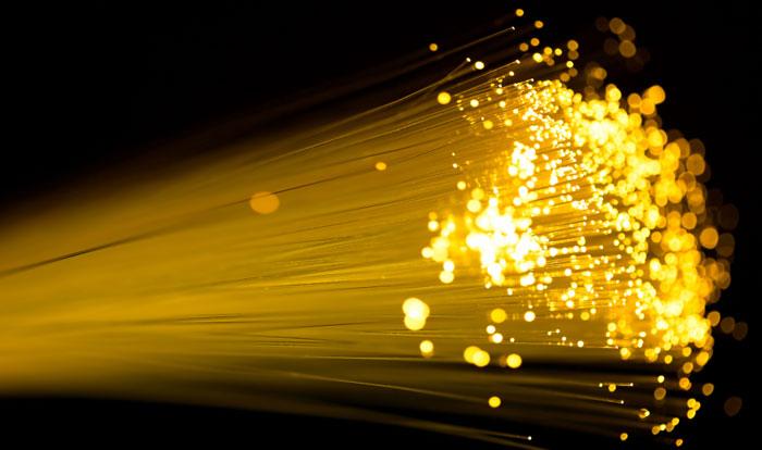 golden photonic light streams