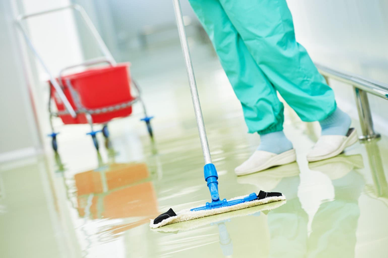 Practice cleaning and disinfection