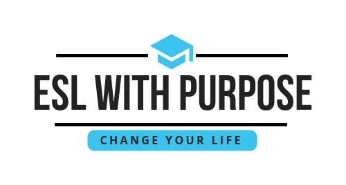 ESL With Purpose Change Your Life Logo
