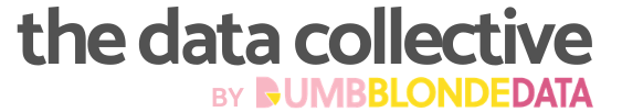 the data collective by dumb blonde data logo