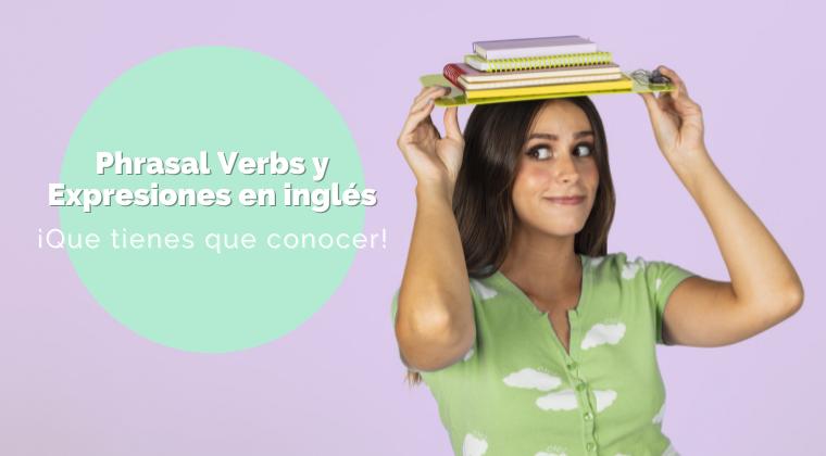 portada del curso phrasal verbs y expresiones en inglés