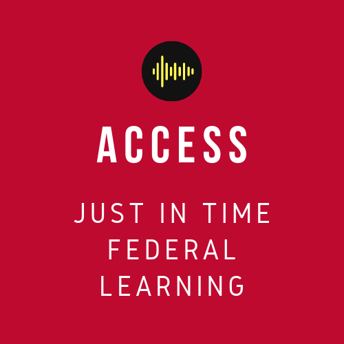 Do business with the government - access just in time learning