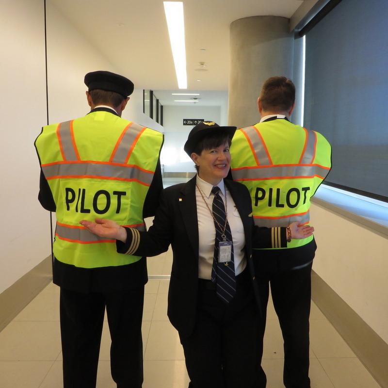 Susan Shaw Female Pilot