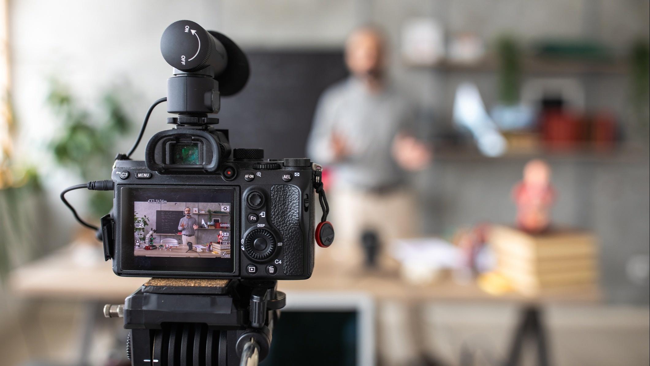 Produção de vídeos para estratégia de Marketing Digital