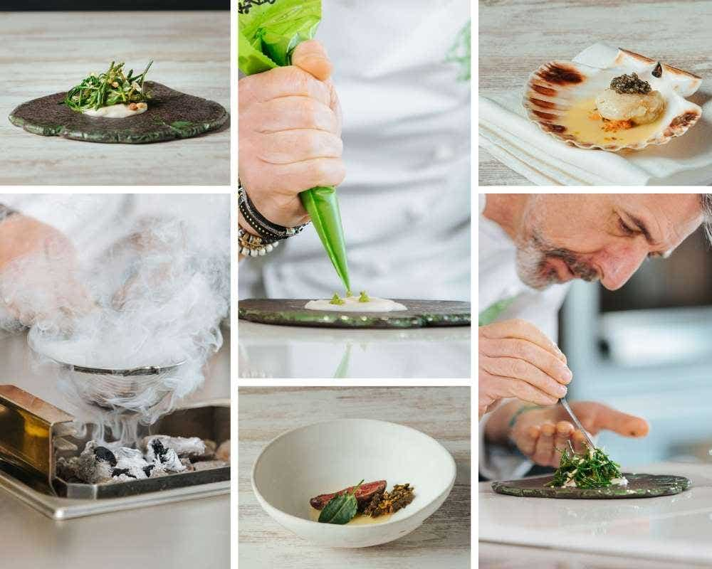 Cooking from the Sea, Algae and Halophiles