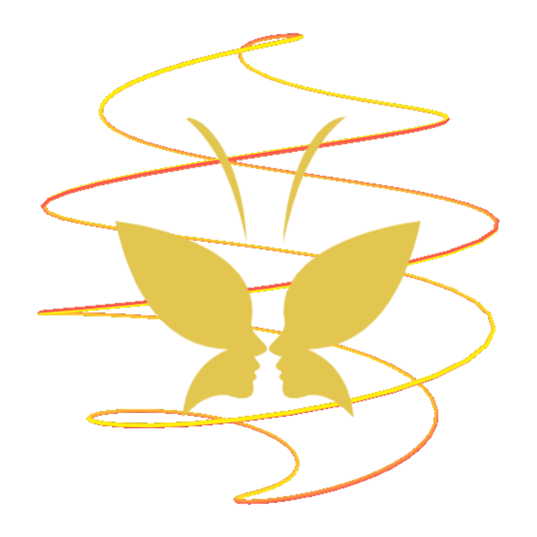 butterfly metamorphosis logo