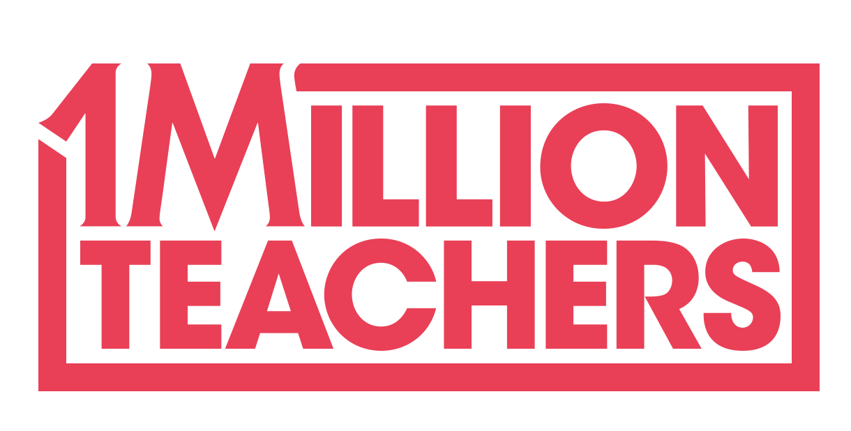 1 Million Teachers Logo