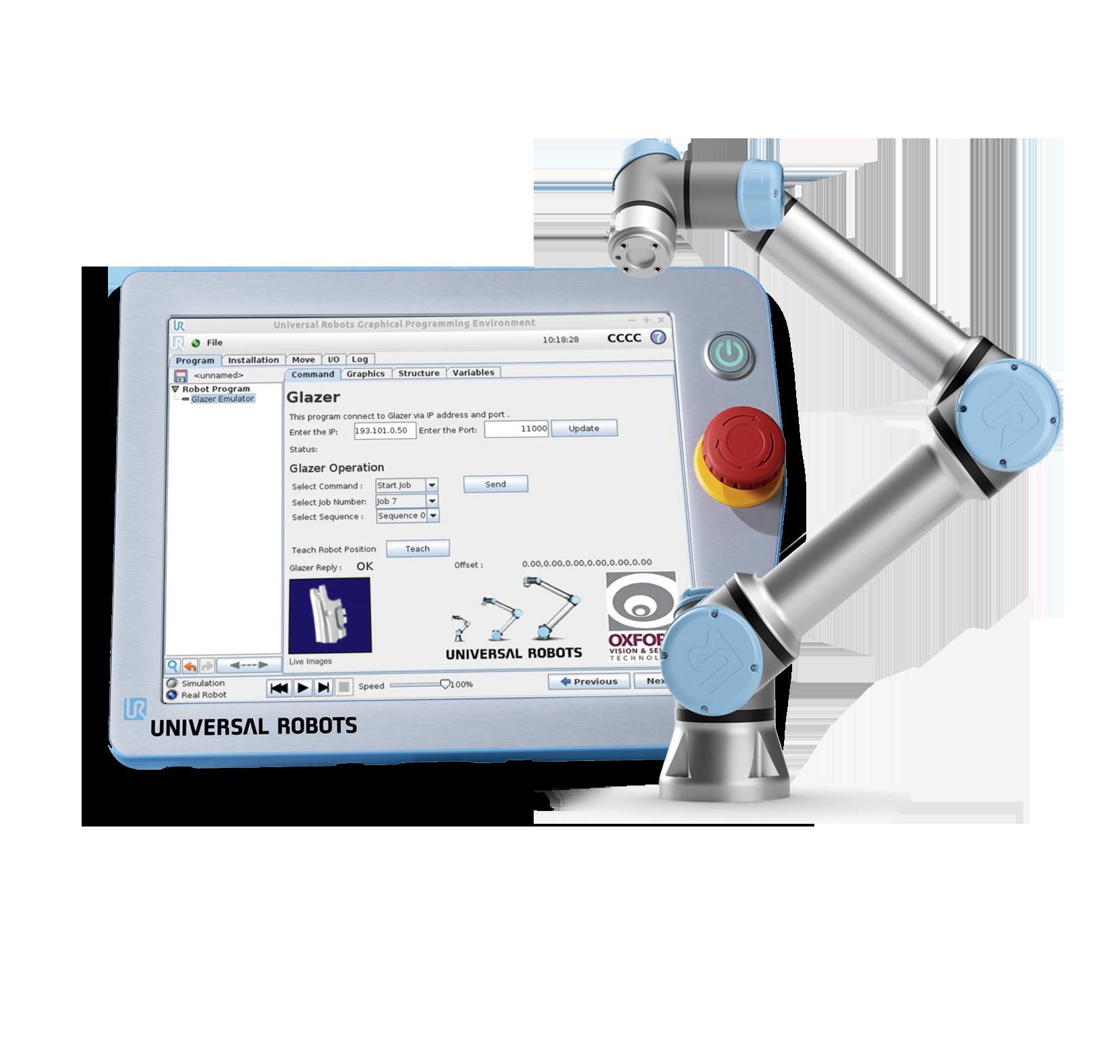 Fully Simulation Robot