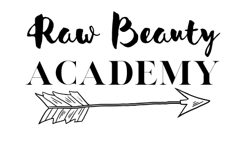 Raw Beauty Academy Logo Make Your Own Natural Cosmetics