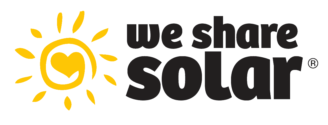 Return to the We Share Solar website