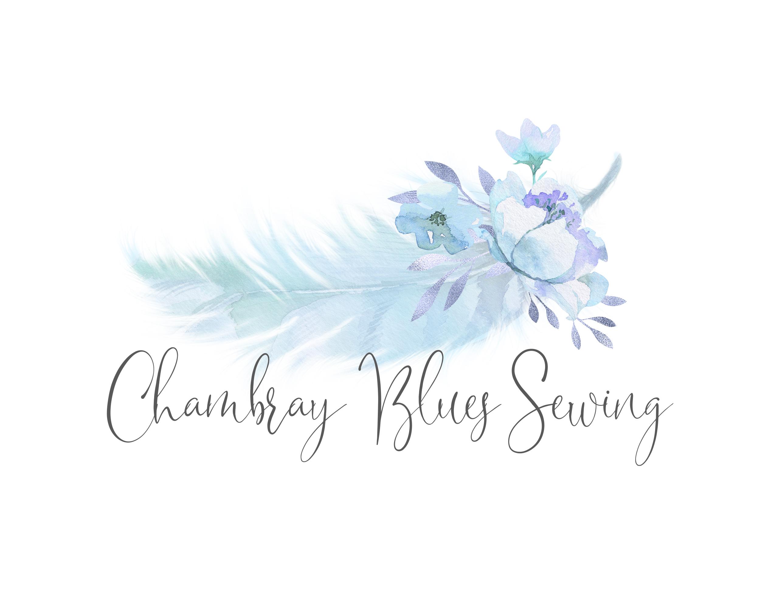 Chambray Blues Sewing Logo