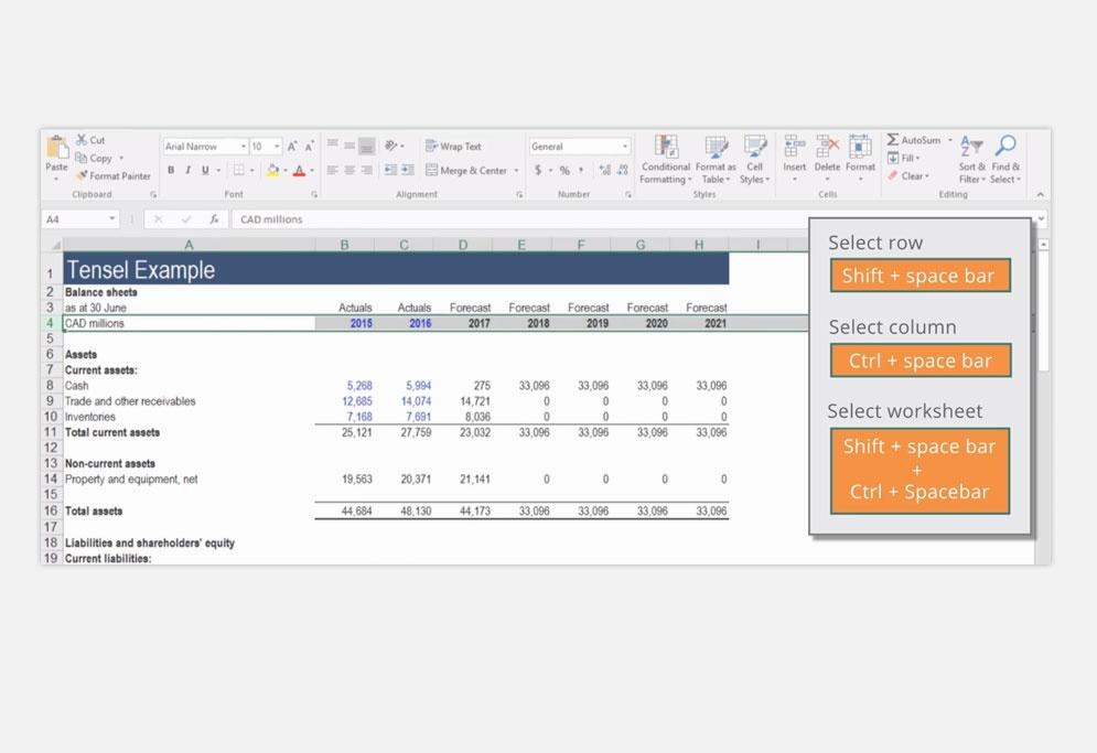 Excel Modeling Fundamentals