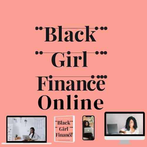 image of black girl finance course logo