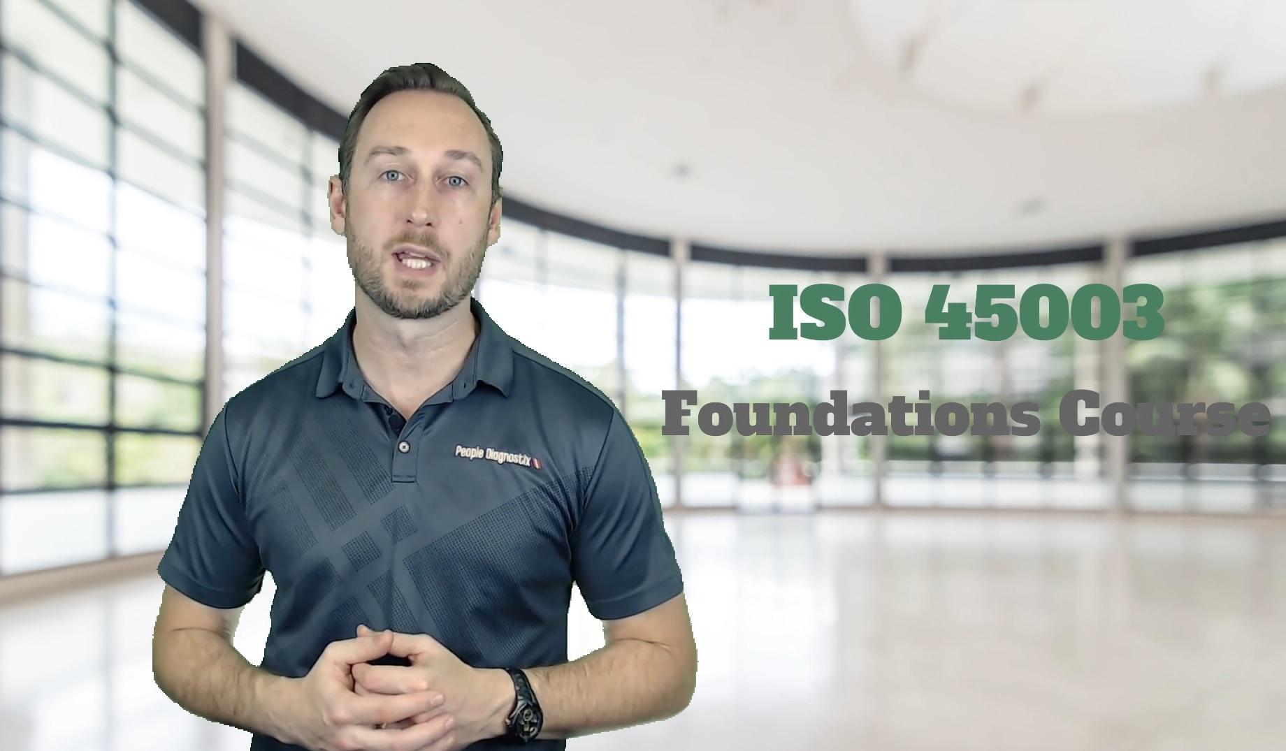 ISO 45003 elearning