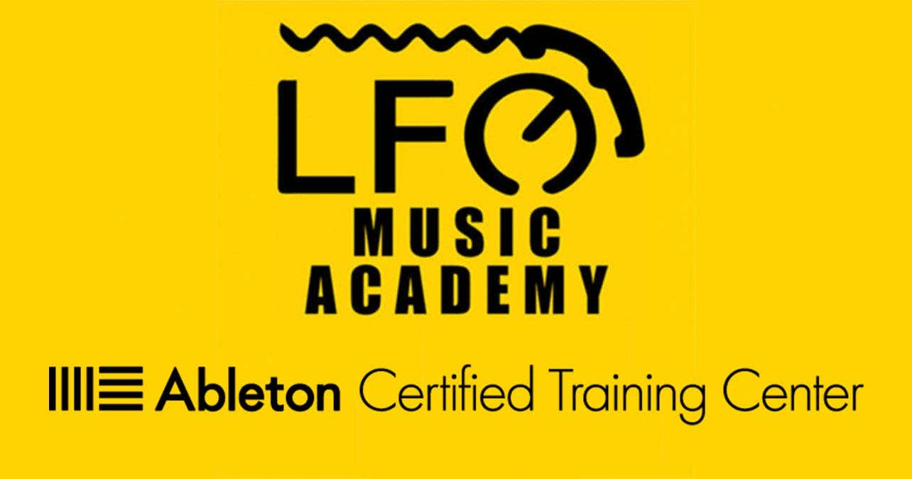 LFO Music Academy è uno dei 15 Ableton Online Certified Training Center nel mondo