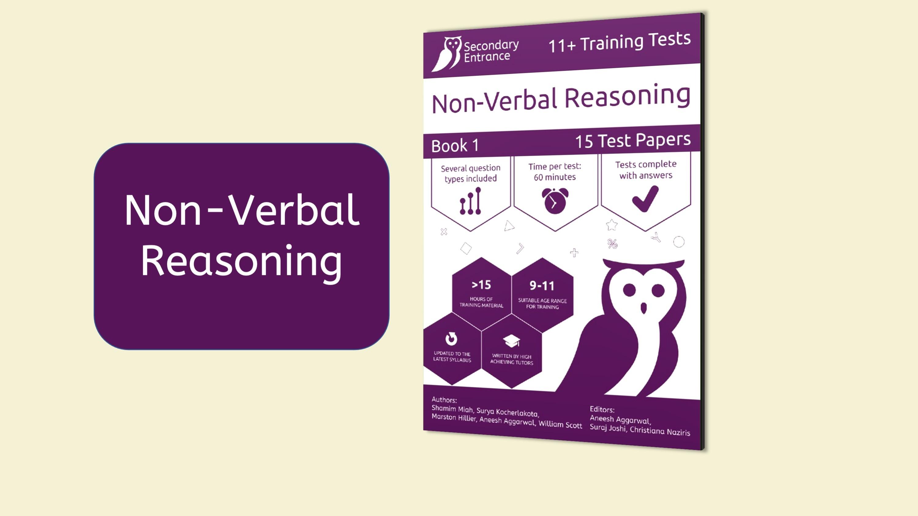 Non-Verbal Reasoning Courses