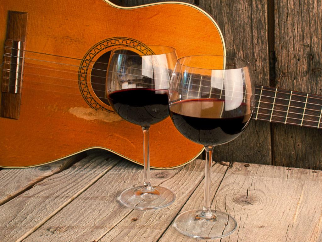 salsa lifestyle wine music