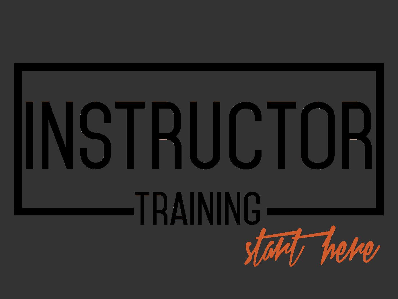 Task Specific Instructor Training Bundle