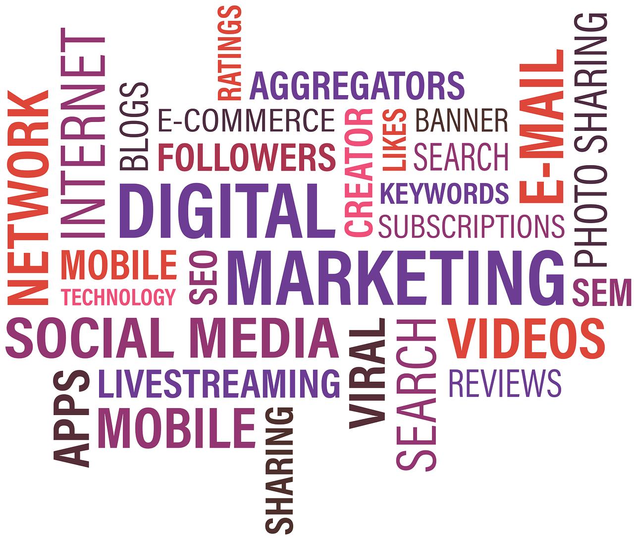 keywords digital marketing