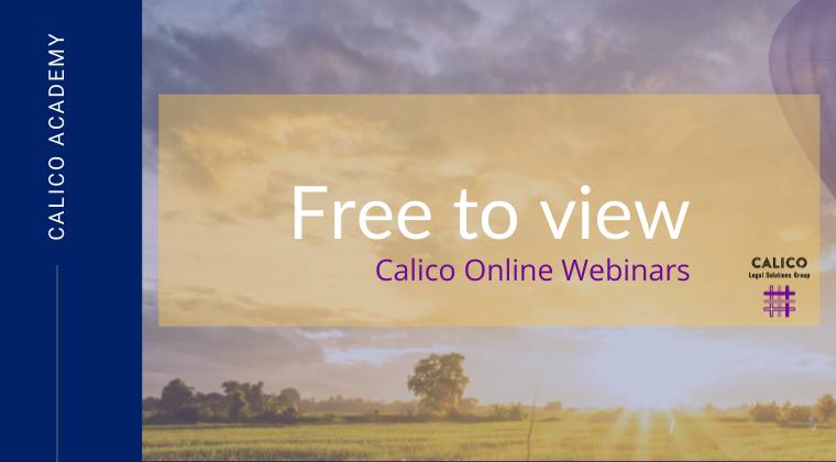Webinars - Free access
