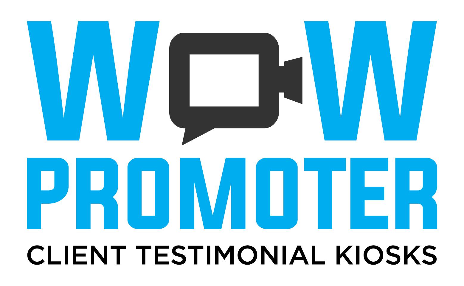 WOW Promoter video testimonial logo