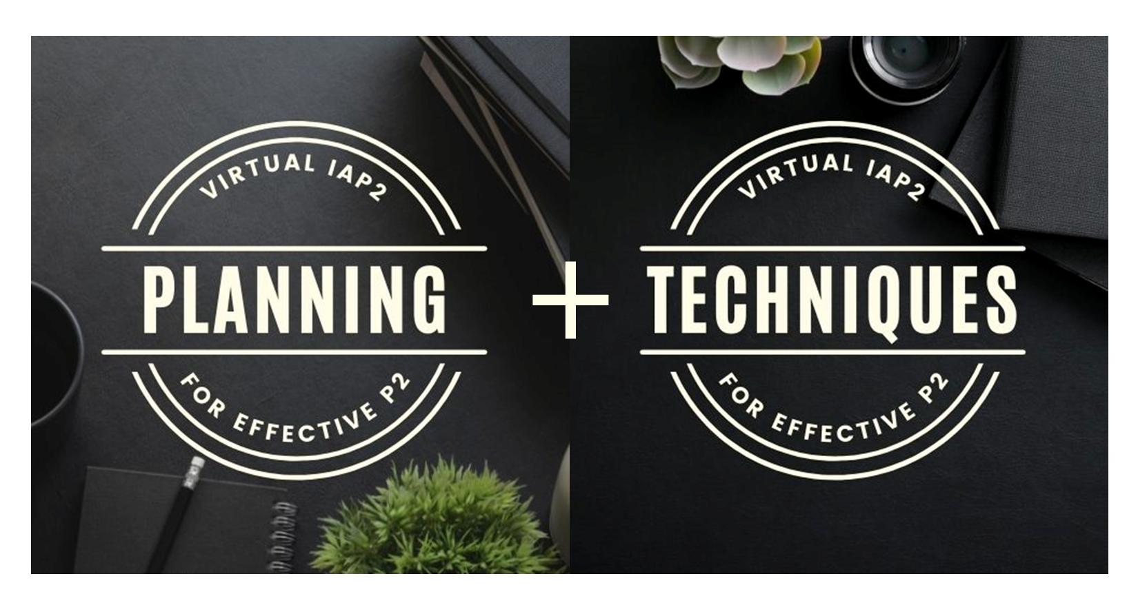 IAP2 Planning & Techniques Bundles