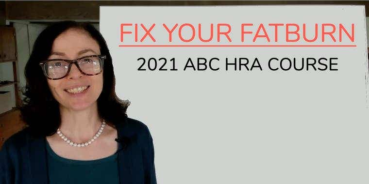 Fix Your FatBurn course