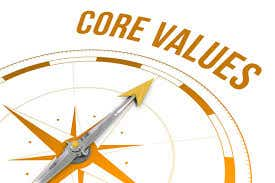 Core Values are at the heart of the program.