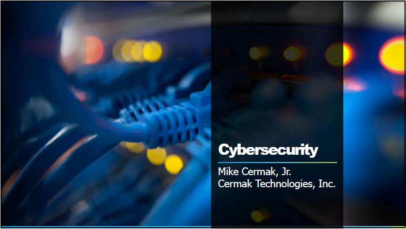Cybersecurity (1 PA Substantive CLE)