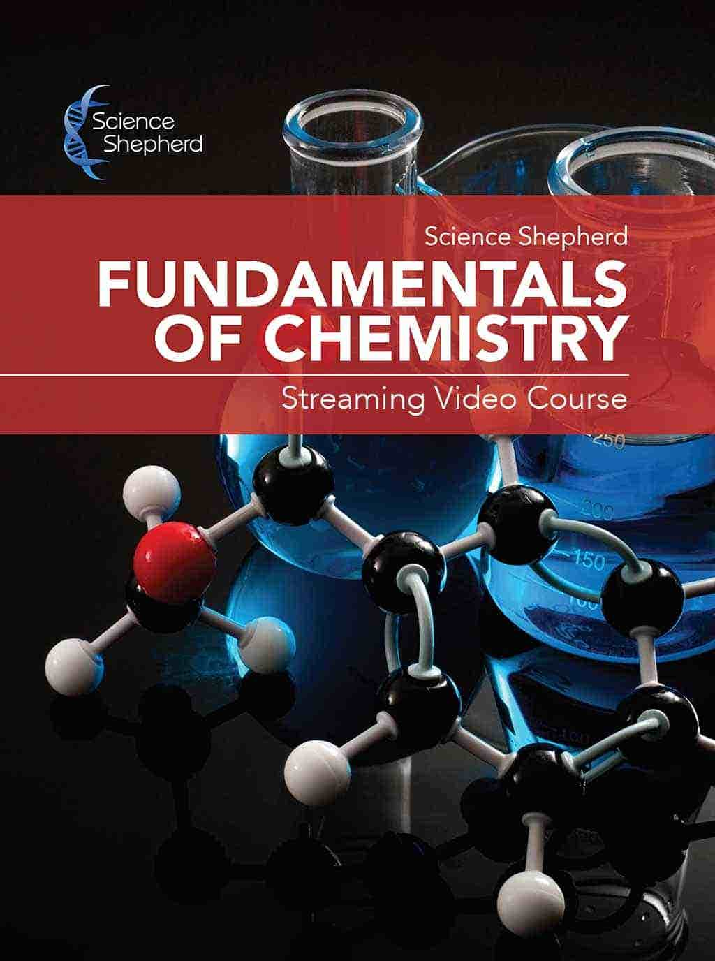 Science Shepherd Homeschool Fundamentals of Chemistry Streaming Video Course cover of elephants