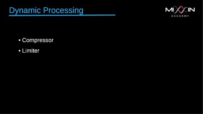 LEVEL 3 - Dynamic Processing
