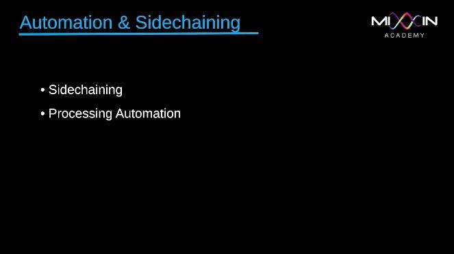 LEVEL 8 - Automation & Sidechaining