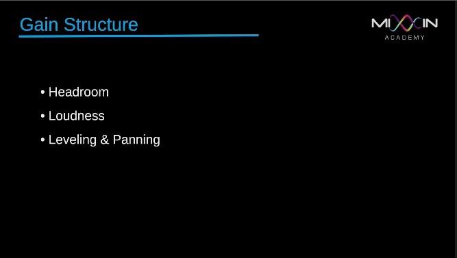 LEVEL 6 - Gain Structure