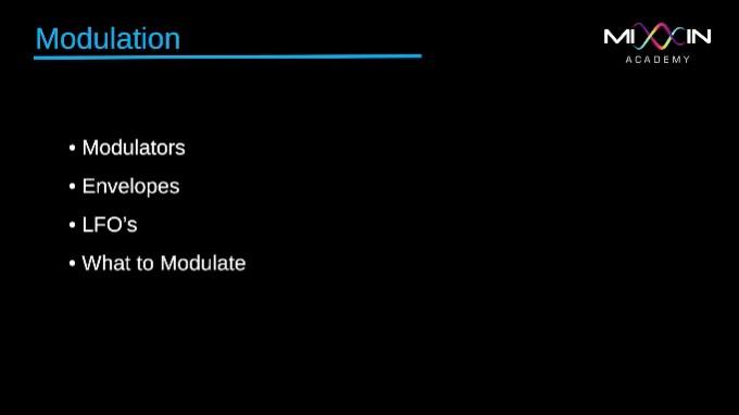 LEVEL 5 - Modulation