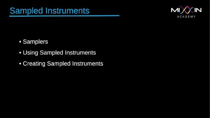 LEVEL 2 - Sampled Instruments